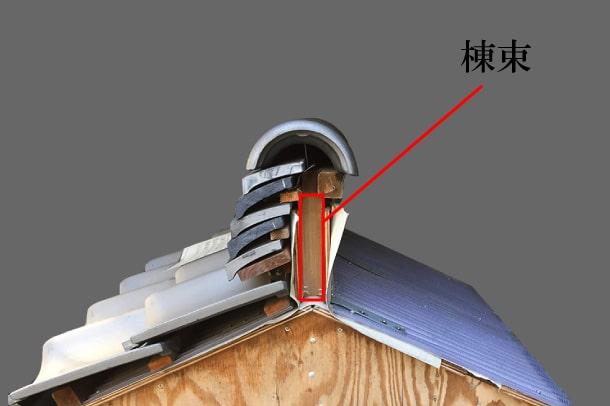「棟束 むなづか」難しい屋根の専門用語をやさしく解説。今日の屋根用語!第452日目
