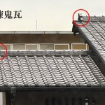 「棟鬼瓦 むねおにがわら」難しい屋根の専門用語をやさしく解説。今日の屋根用語!第446日目