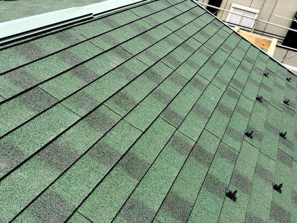 天然石付き金属屋根材 軽量屋根材