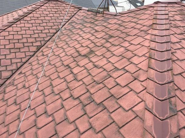 世田谷区で屋根材の割れを指摘されたお宅へ現地調査に伺いました【クボタ・アーバニー】