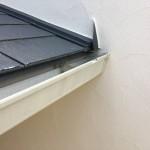 足場屋さんがぶつけて破損した軒樋を補修しに行って参りました【横浜市青葉区】