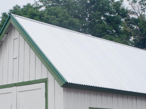 Q. 小屋の屋根にヒビが入っているんですが、直してもらえますか?