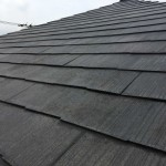 スレート屋根塗装して10年経過した屋根の調査。今後の住まい方でリフォーム方法も変わります。【東京都品川区】