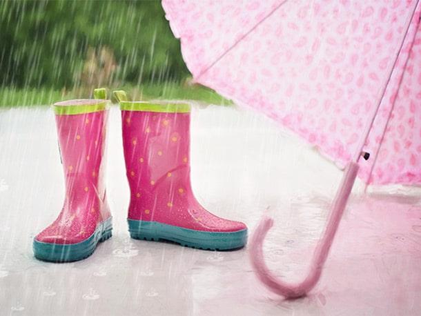 ドローンは雨に弱い