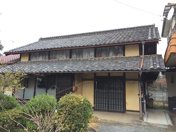 瓦屋根の家 古民家 日本瓦