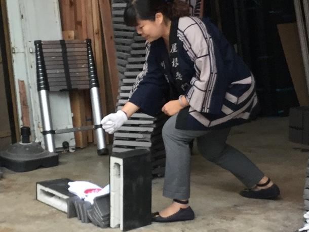 台湾のお客様女性