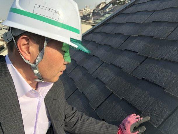 【横浜市保土ヶ谷区】築15年、クボタ・ザルフの屋根点検調査にお邪魔致しました。