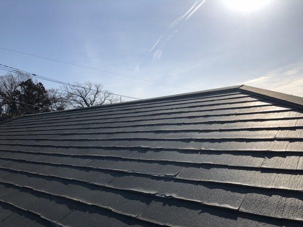 【埼玉県川口市】築10年。ニチハ・パミールが使われている屋根の点検にお伺いしました
