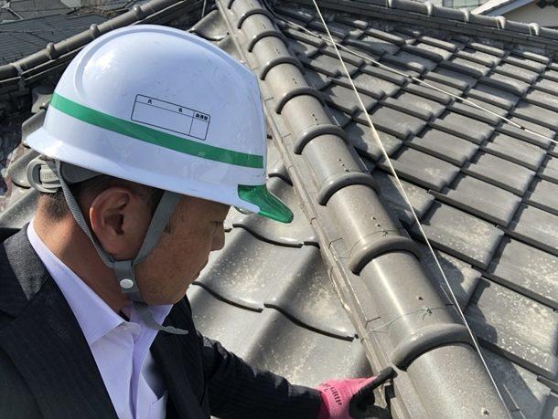 【横浜市神奈川区】築30年弱 瓦屋根の点検に伺いました