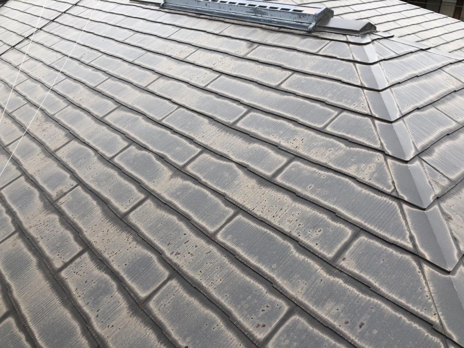 10年前塗装屋根