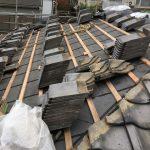 【東京都大田区】瓦一部葺き替えと1階はカバー工法