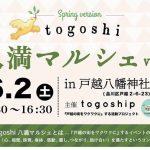 かわら割道場togoshi八幡マルシェに初参加!