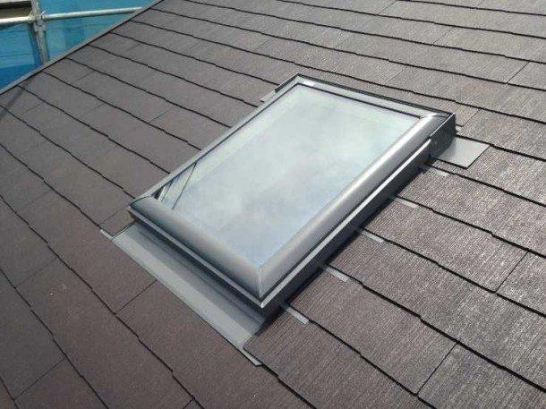 天窓の雨漏りは雨の角度にもよることがある