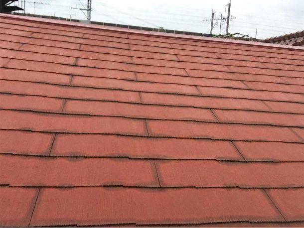自撮り棒で屋根点検4