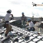 NHKサラメシが女性瓦葺き師の方を紹介。屋根工事の様子が見られます。