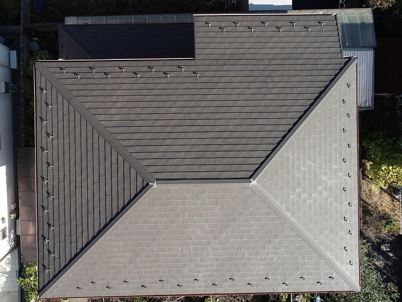 ドローンで屋根点検1