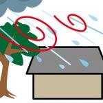 屋根雨樋の梅雨台風対策。修理を安く済ませるために自分で点検してみる。