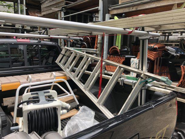 屋根点検グッズ小物、屋根雨漏りの応急修理セット