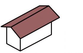 きりづま屋根