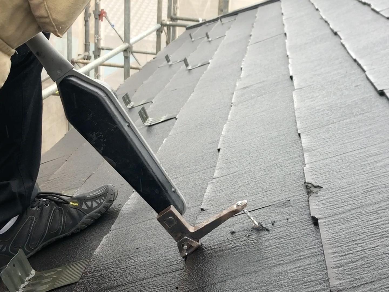 カバー工法 屋根の下地強度確認