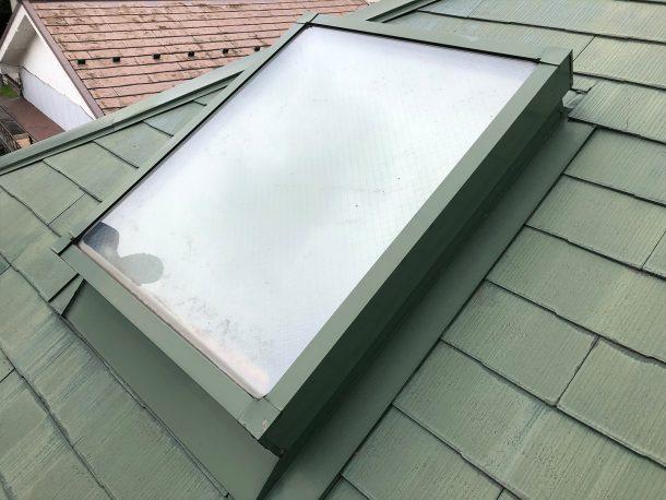 天窓交換工事事例 工事前