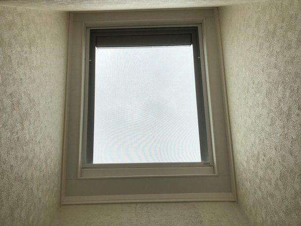天窓交換工事事例 交換完了 室内