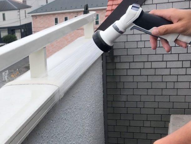 天窓NG修理 天窓の散水調査
