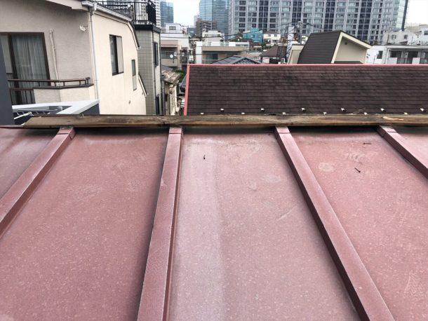 ガルバリウム、板金屋根 棟交換