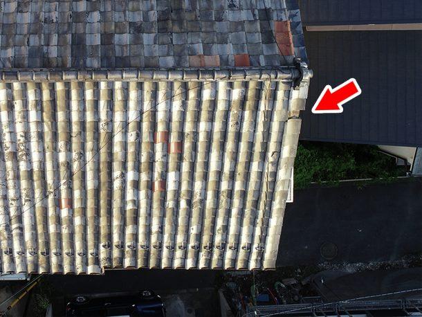 和瓦、洋瓦の屋根 台風被害4