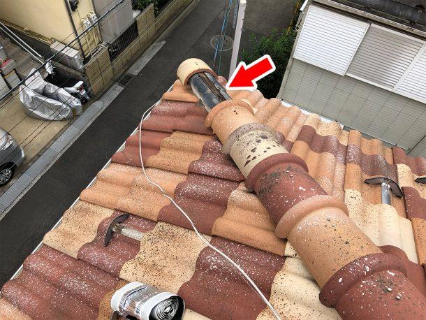 和瓦、洋瓦の屋根 台風被害6