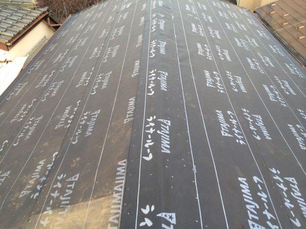和瓦、洋瓦の屋根 葺き替え、葺き直し工事4
