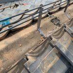 【川崎市中原区】瓦屋根の棟の取り直し工事、耐震補強工事 (ガイドライン工法) の事例