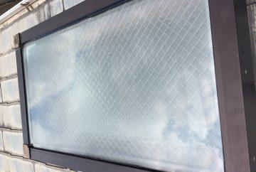 【東京都目黒区】天窓のガラスパッキン劣化による雨漏りの修理工事の事例9