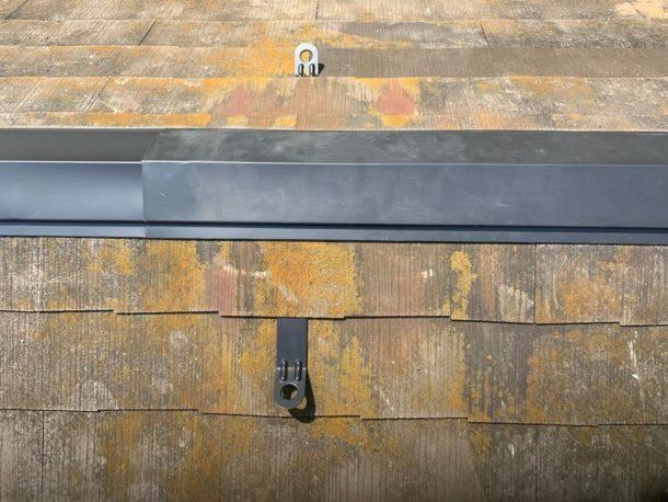 【横浜市中区】台風被災、スレート・コロニアル屋根、棟板金の交換修理工事の事例13