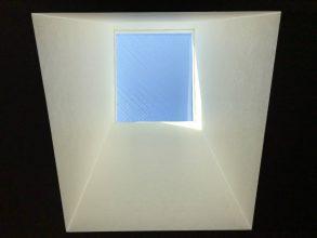 天窓を後付けした事例1:内観