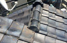 【東京都品川区】瓦屋根の雨漏り、部分修理工事の事例