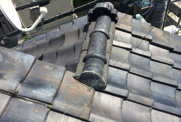 【東京都品川区】瓦屋根の雨漏り、部分修理工事の事例5