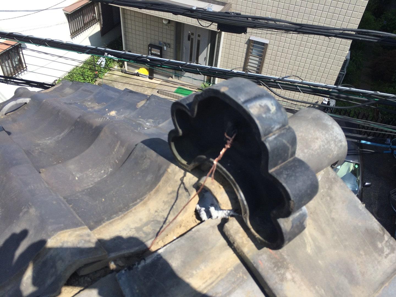 【東京都品川区】瓦屋根の雨漏り、部分修理工事の事例8