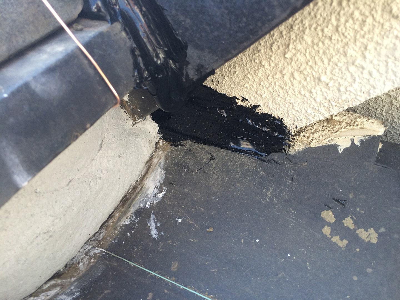 【東京都品川区】瓦屋根の雨漏り、部分修理工事の事例11