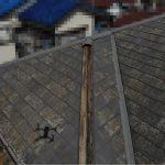 【千葉市稲毛区】台風被災、スレート・コロニアル屋根、棟板金の交換修理工事の事例
