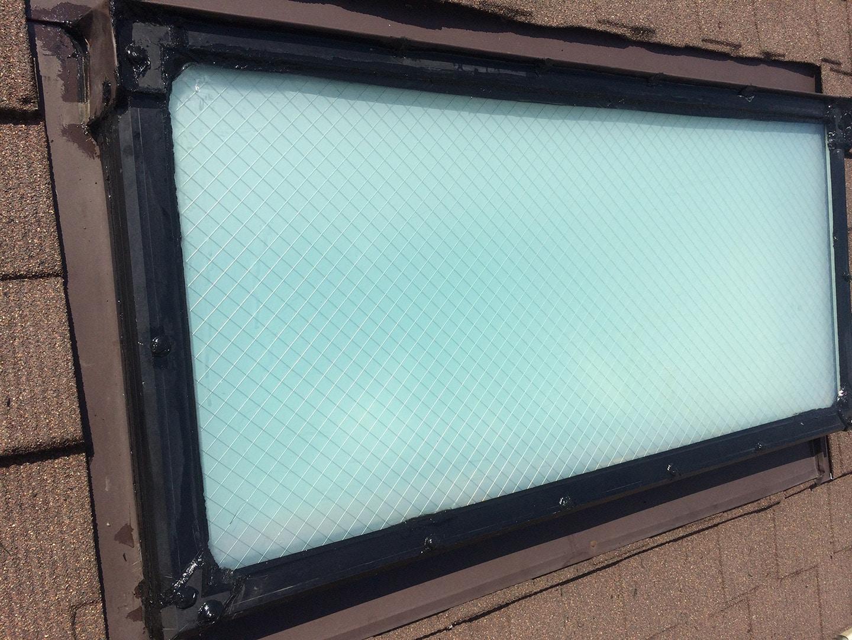 【神奈川県大和市】立山アルミの天窓のガラスパッキン劣化による雨漏りの修理工事の事例20