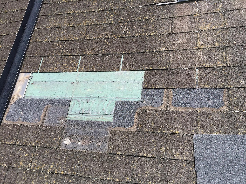 【東京都新宿区】トステム「 スカイライト 」のガラスパッキン劣化による天窓雨漏りの修理工事の事例22