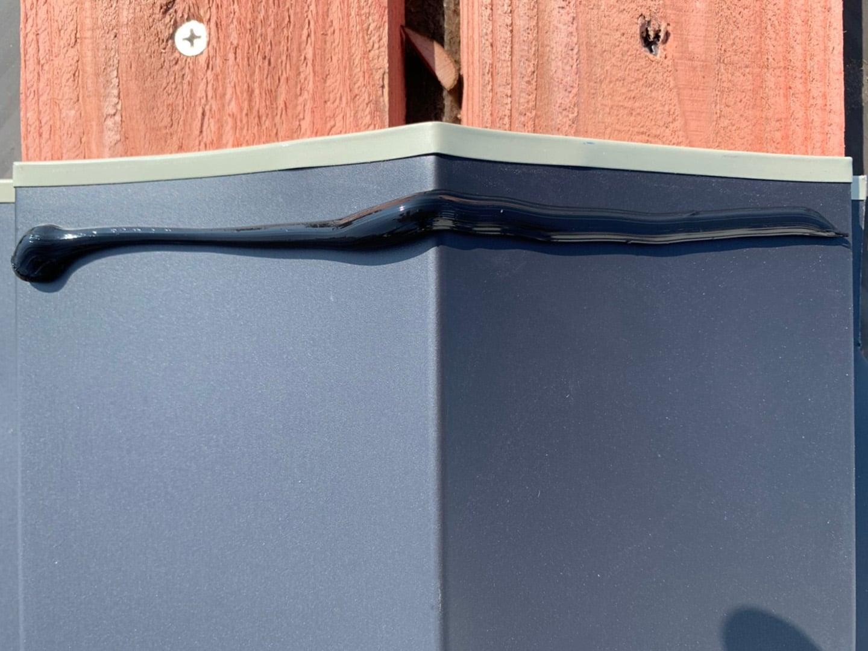 【千葉県市原市】台風で被災した金属屋根、棟板金の交換修理工事の事例7