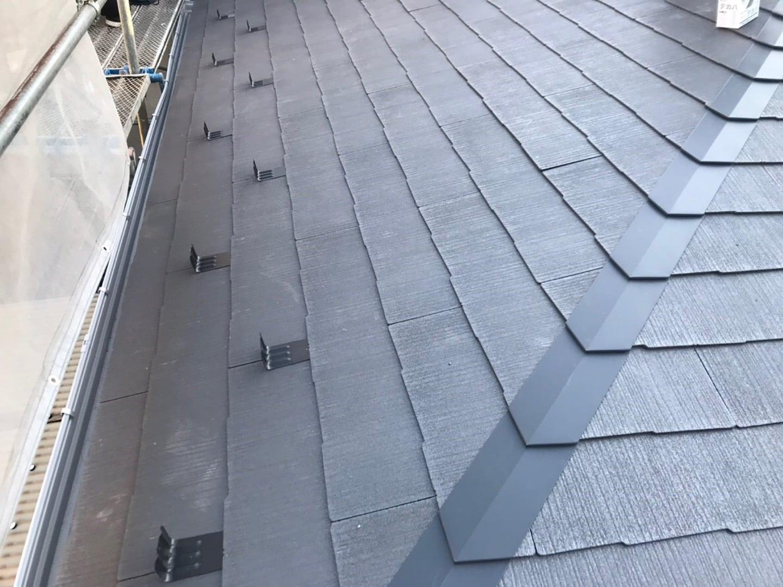 屋根葺き替え工事 下地木材が不要な棟