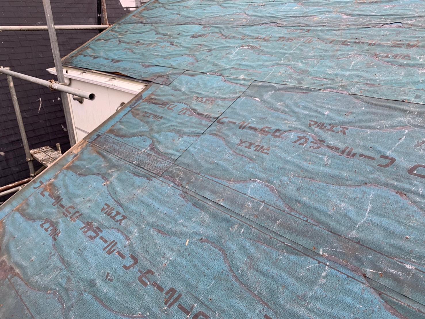 【東京都目黒区】パミールからオークリッジスーパーへ、屋根葺き替え工事の事例6