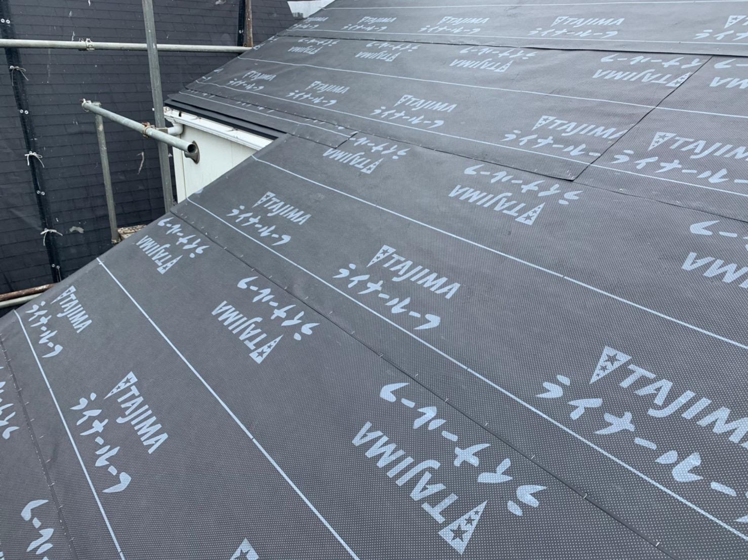 【東京都目黒区】パミールからオークリッジスーパーへ、屋根葺き替え工事の事例8