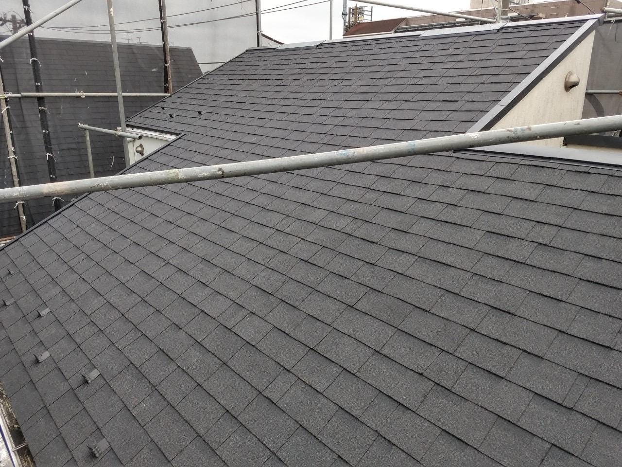 【東京都目黒区】パミールからオークリッジスーパーへ、屋根葺き替え工事の事例9