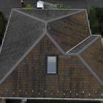 【横浜市都筑区】天窓のガラスパッキン劣化による雨漏りの修理工事の事例