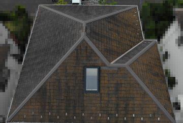 【横浜市都筑区】天窓のガラスパッキン劣化による雨漏りの修理工事の事例2