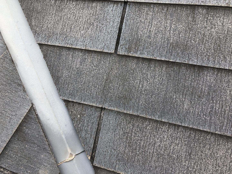 【東京都調布市】スレート屋根の棟板金の釘の増し打ち、ひび割れ補修工事の事例5